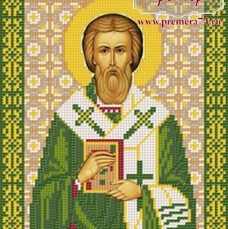 Икона из бисера Св.Мч. Епископ Валентин Интерамский