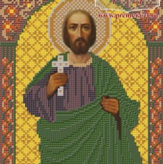 Икона из бисера Св.Мч.Виктор