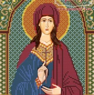 Икона из бисера Св.Мч.Виктория