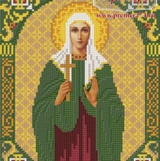 Икона из бисера Св.Мч.Дарья
