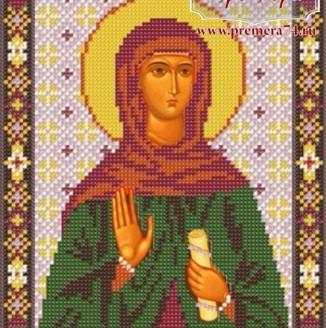 Икона из бисера Св.Мч.Зинаида