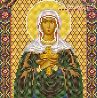 Икона из бисера Св.Мч.Иулия