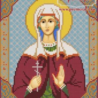 Икона из бисера Св.Мч.Клавдия