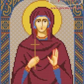 Икона из бисера Св.Мч.Кристина