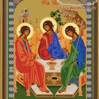 Икона из бисера Св.Троица