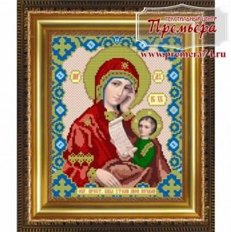 Икона из бисера Пресвятая Богородица Утоли мои печали