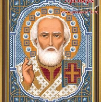 Икона из бисера Св. Николай Угодник