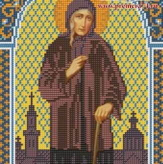Икона из бисера Св.Блаженная Ксения Петербургская
