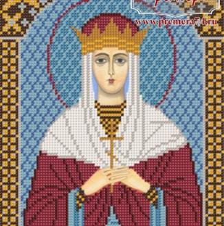 Икона из бисера Св.Блг.Царица Тамара
