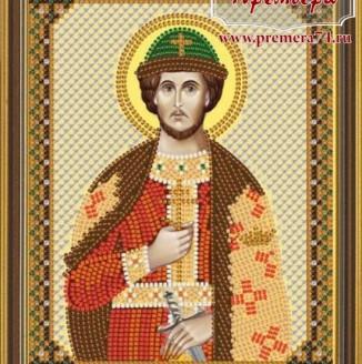 Икона из бисера Св.Блгв.Князь Черниговский