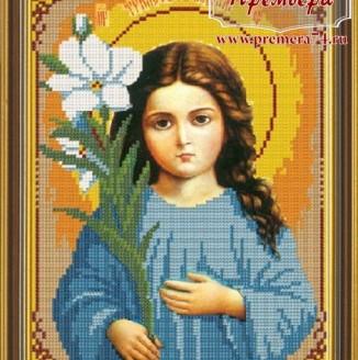 Икона из бисера Св.Богородица Трилетствующая