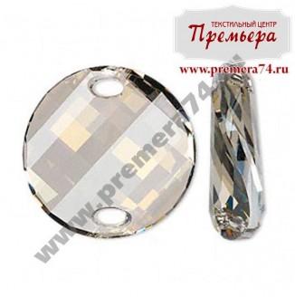 3221 28mm Нашивные кристалы Twist Swarovski