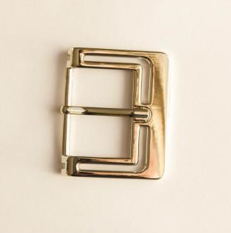 Пряжка металл (100-43, прямоугольник с рисунком, 38мм, никель)