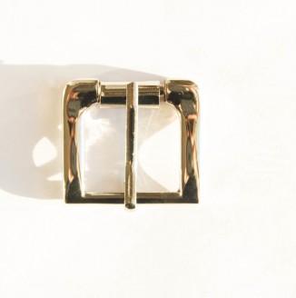 Пряжка металл (8063, прямоугольник, 24мм, никель)