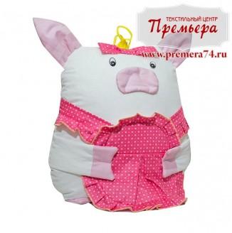 Сувенирная подушка Свинка Милаша