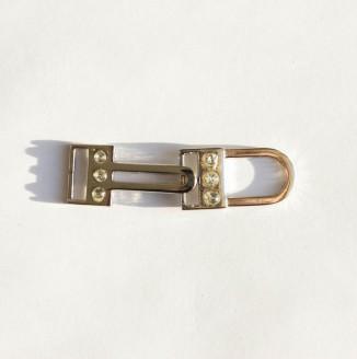 Крючок со стразами  (СКВ 1240, никель)