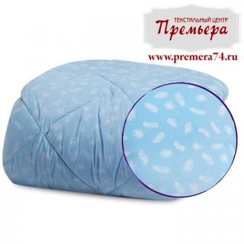 Одеяло окантованное Перышко ЕВРО