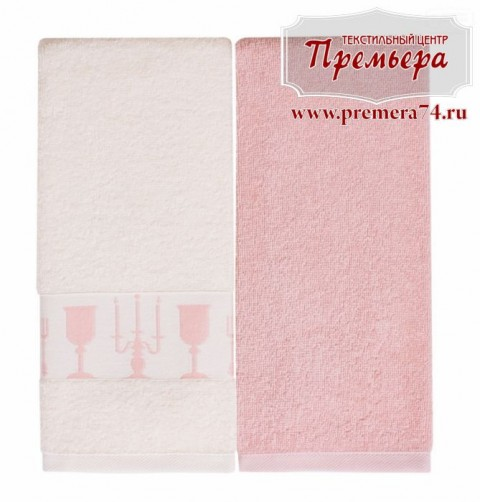 Набор кухонных махровых полотенец Зефир 40х60