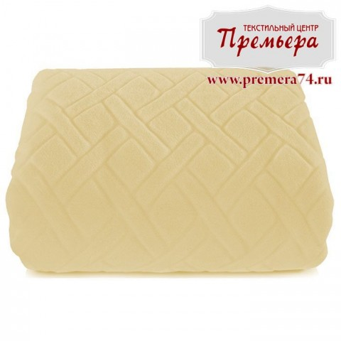 Плед 140х220 Французская ваниль