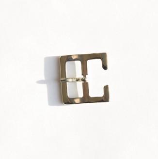 Пряжка металл (440001, квадрат, 20мм, никель)