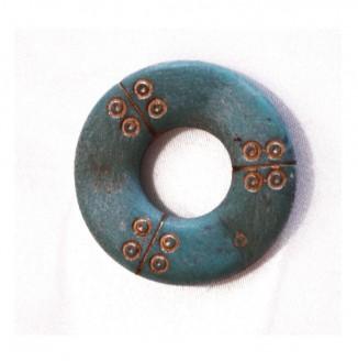 Декоративный элемент (круг, бирюзовый)