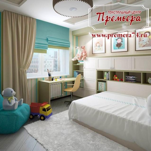 Яркая детская комната