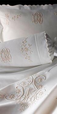 Вышивка на домашени текстиле