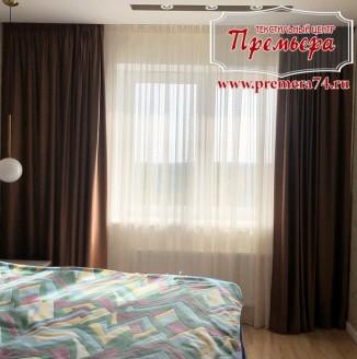 Минималистичное оформление спальни