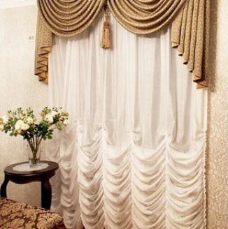 Классические французские шторы