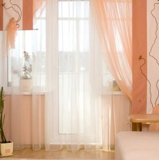 Японские шторы в небольшую комнату