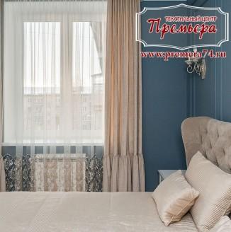 Текстильное оформление спальни в европейском стиле