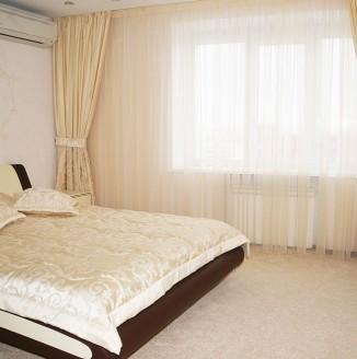 Бежевая спальня