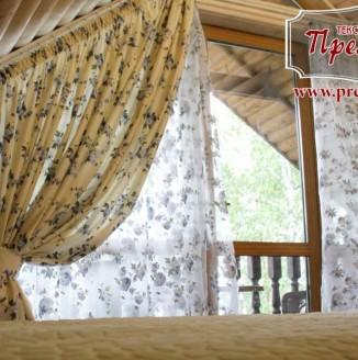 Текстильное оформление спальни прованс на мансарде