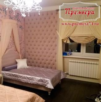 Текстильное оформление комнаты в хостеле