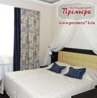 Дизайн белой спальни с балдахином