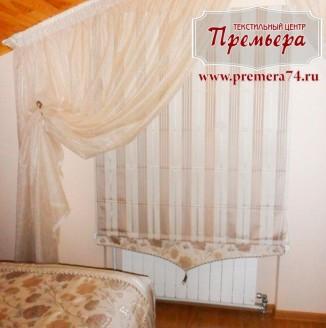Текстильное оформление мансарды