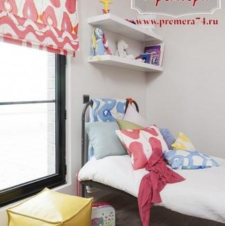 Римские шторы в комнату девочки