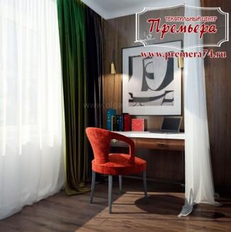 проект квартиры в ЖК Северные Шершни - спальня