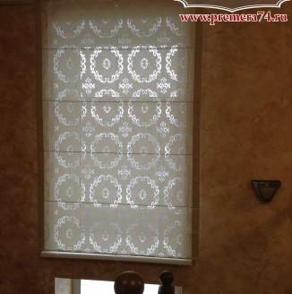 Римская штора для коридора