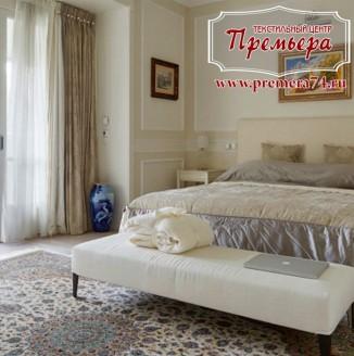 Декорирование спальни в теплых тонах