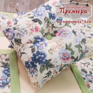 Декоративная обшивка подушки