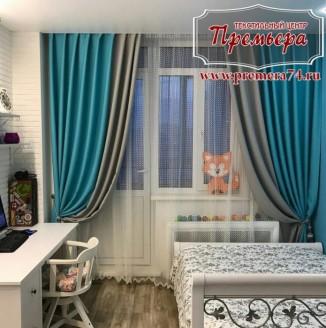 Плотные шторы для детской