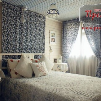 "Синяя спальня в стиле ""Прованс"""