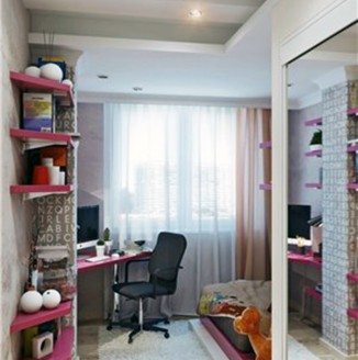 Шторы для комнаты девочки подростка