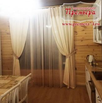 Текстильное оформление гостевого домика