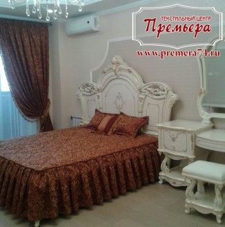 Оформление спальни в классическом стиле