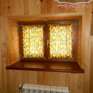 Рулоные шторы для сауны
