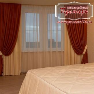 Изящный интерьер спальни в стиле классики