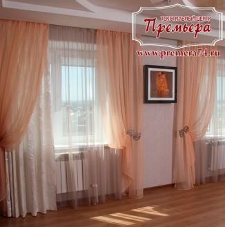 Изящные шторы в гостиную