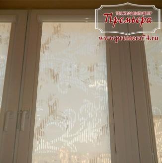 Рулонные шторы на евро окно